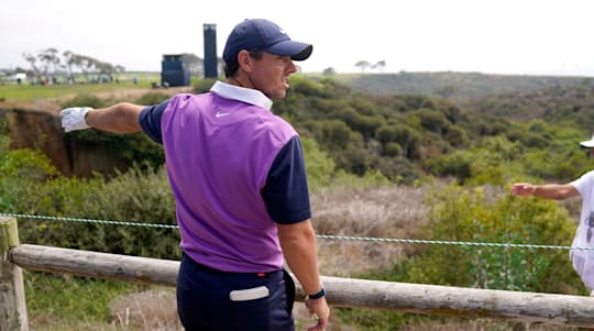US Open day three: Rory McIlroy in position to pounce at Torrey Pines