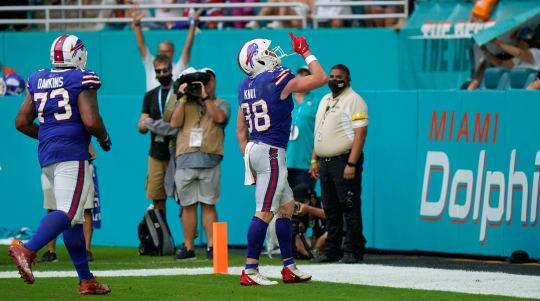 Buffalo Bills record first NFL shutout of season to beat Miami Dolphins