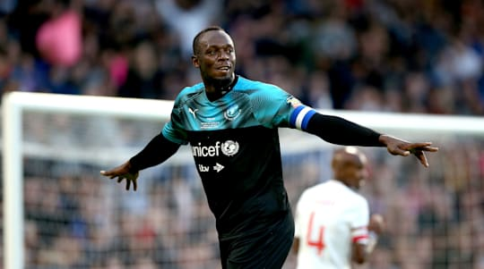Usain Bolt reveals names of newborn twins