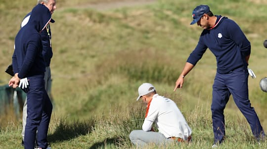 Koepka rips officials in Ryder Cup rules dispute