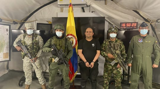 Colombia's most wanted drug lord captured in raid