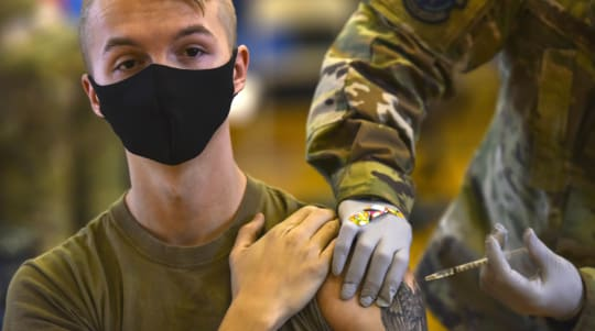 Thousands of service members saying no to vaccine
