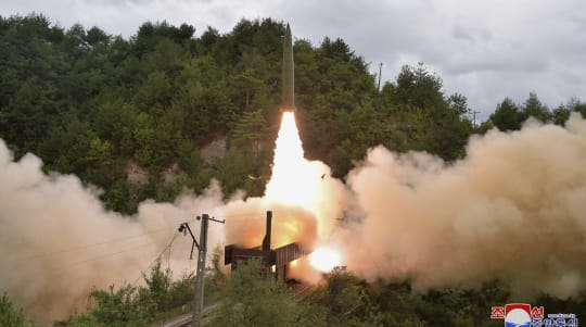N. Korea says it tested train-launched missiles