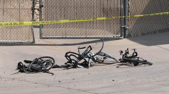Police ID driver who rammed bike riders during race