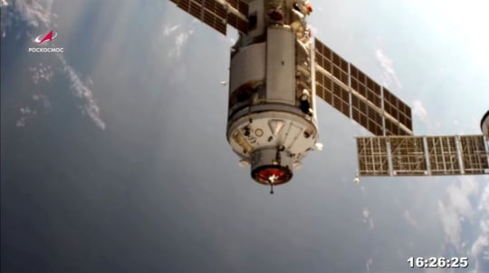 Space station thrown out of control by Russian mishap