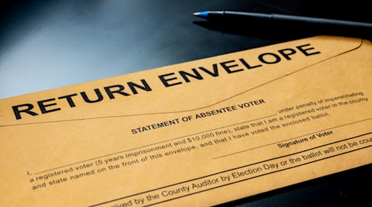 Some get absentee ballots with wrong return address
