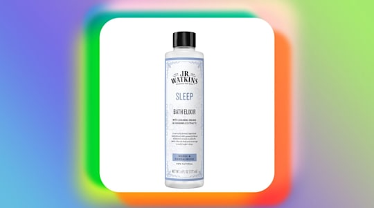 This bath elixir helps me sleep through the night