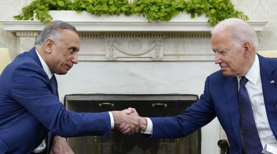 Biden, Iraqi PM end U.S. combat mission in Iraq