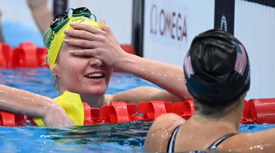 Katie Ledecky dethroned at Olympics