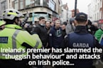 Micheal Martin slams 'thuggish behaviour' of anti-lockdown protesters
