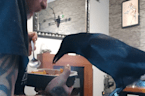 Rescued baby crow grows up to become bossy family member