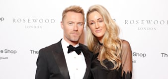 Ronan Keating and wife Storm 'worried sick' after son taken to hospital