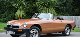 Forty-year-old MGB with just 77 miles on the clock auctioned off