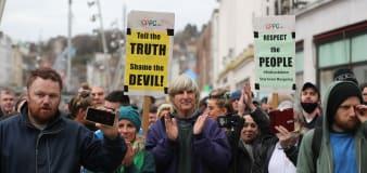 Demonstration against Irish lockdown passes peacefully