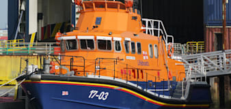 Two men rescued off Essex coast but search for third person called off