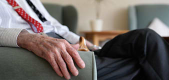 Indoor care home visits resume across England