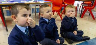First pupils return to schools in Northern Ireland since December