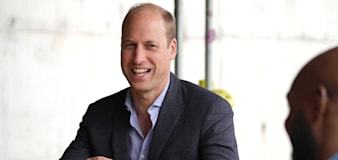 William teams up with former New York mayor Michael Bloomberg on climate project