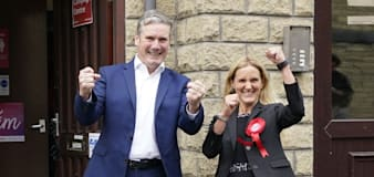 Starmer hails victory 'against the odds' as Labour holds Batley and Spen