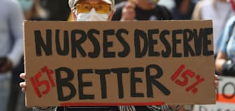 Protests planned over 1% NHS pay rise recommendation