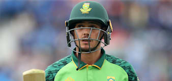Quinton De Kock apologises to South Africa team-mates over refusal to take knee
