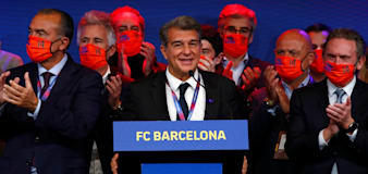 Joan Laporta to serve second term as Barcelona president after election win