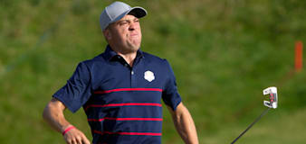 Justin Thomas and Daniel Berger hit the beer as USA take commanding lead