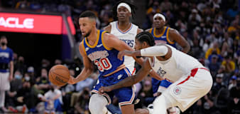 Stephen Curry shines as Golden State see off Los Angeles Clippers
