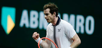 Andy Murray set for Rotterdam clash with world number eight Andrey Rublev