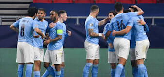 Manchester City put one foot in Champions League quarter-finals