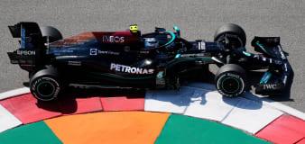 Valtteri Bottas beats Lewis Hamilton in Sochi second practice