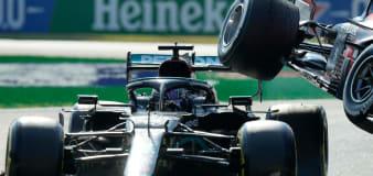 'Thank God for the halo' says Lewis Hamilton