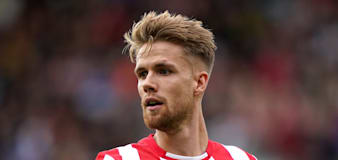 Kristoffer Ajer expecting a tough challenge when Brentford face Liverpool