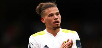 Football rumours: Kalvin Phillips subject of keen interest amid £60m price tag