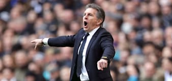 St Etienne fans delay Ligue 1 clash with protests against manager Claude Puel