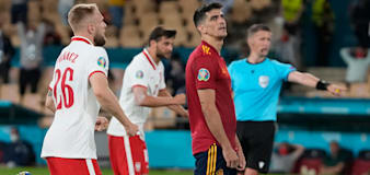 Luis Enrique rues second-half penalty miss as Spain are held by Poland