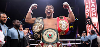 Anthony Joshua applauds Oleksandr Usyk for 'jumping in at the deep end'