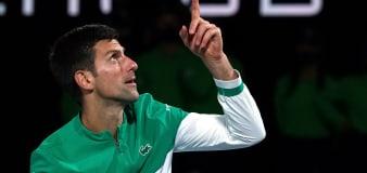 Novak Djokovic equals Roger Federer's record of weeks as world number one