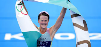 Flora Duffy earns Bermuda's first Olympic gold medal with triathlon success