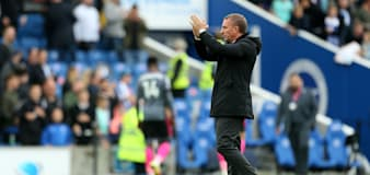 Brendan Rodgers felt one of Leicester's two disallowed goals should have stood