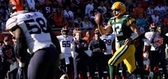 Aaron Rodgers taunts Chicago Bears fans as Green Bay Packers continue dominance