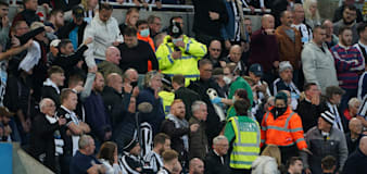 Newcastle fan who collapsed during Tottenham game is discharged from hospital