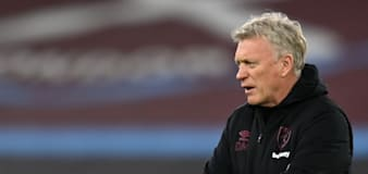 West Ham boss David Moyes looking to be a calmer presence on the touchline