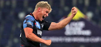 Scotland blown away by Ruben Trumpelmann in T20 World Cup loss to Namibia