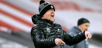 Chris Wilder cannot fault Sheffield United's fight after win over Aston Villa