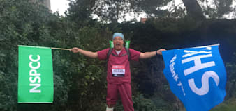 Man ready for his 26th London Marathon after fighting Covid and leg injury