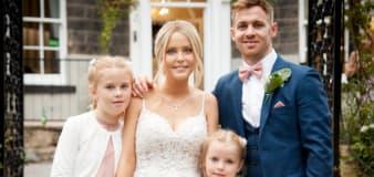 Mum-of-two dies weeks after wedding