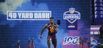DK Metcalf fails to advance out of semifinal heat in track debut