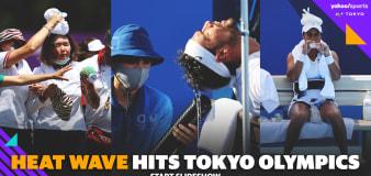'I can die': Tokyo heat wreaks havoc at tennis