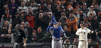 Dodgers-Giants finale marred by controversial call